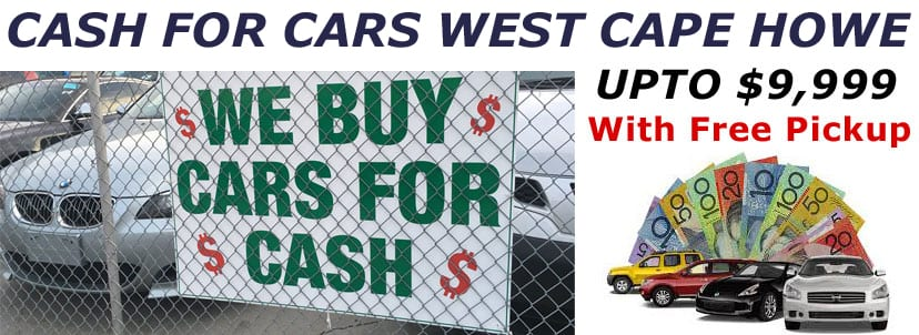 Cash for Cars West Cape Howe